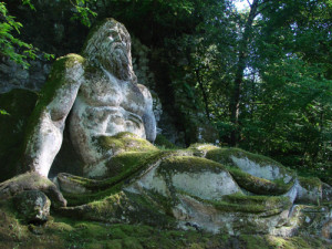 Trip from Rome to Park of Monsters of Bomarzo with rental car and private driver