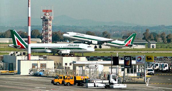 transfer da Roma all'aeroporto di Fiumicino