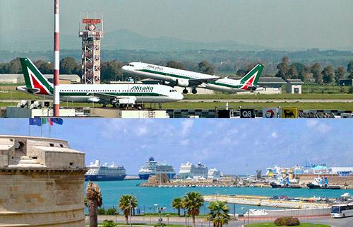 prenota il transfer dagli aeroporti di Roma al porto di Civitavecchia